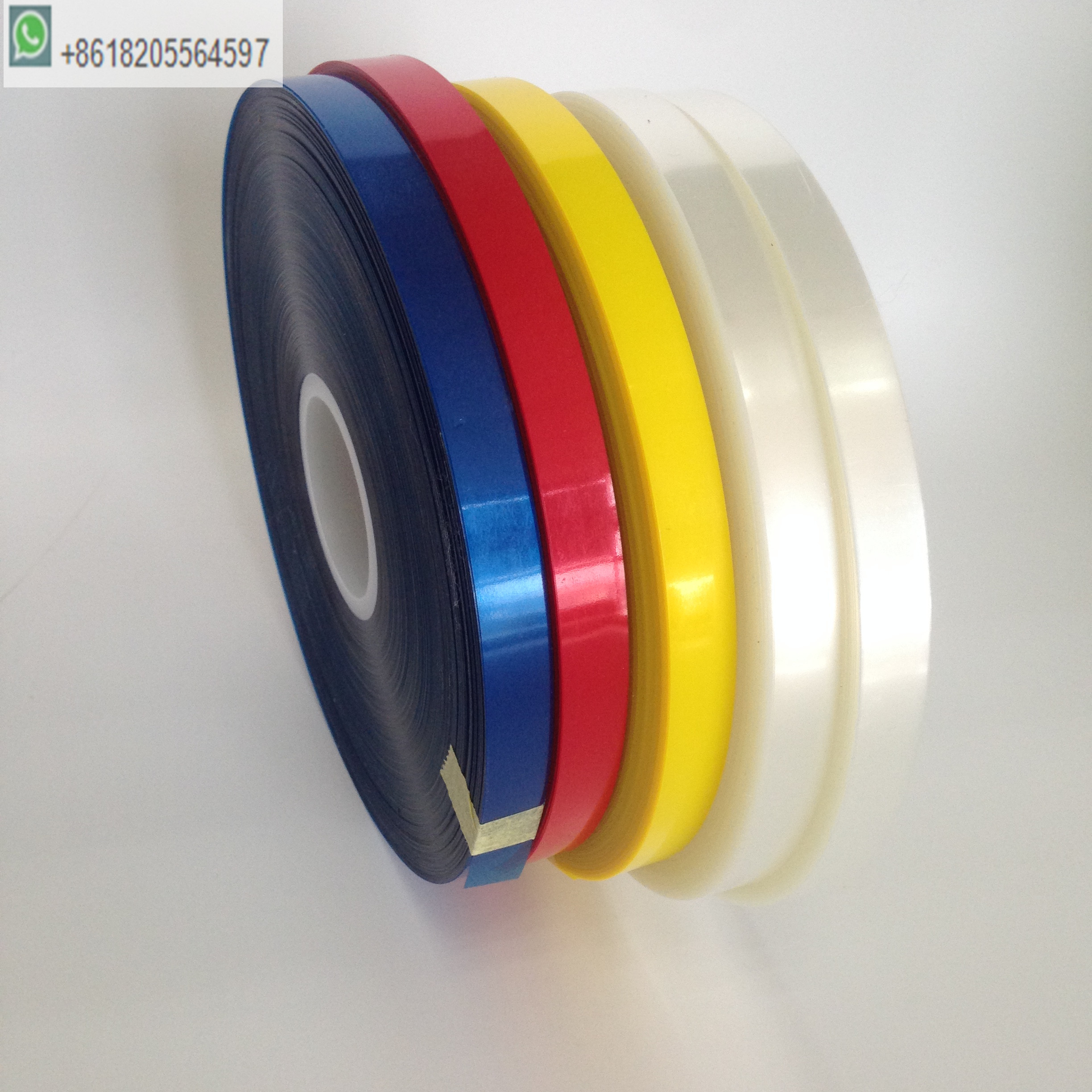 12mm wide OPP transparent film for tape strapping machine use