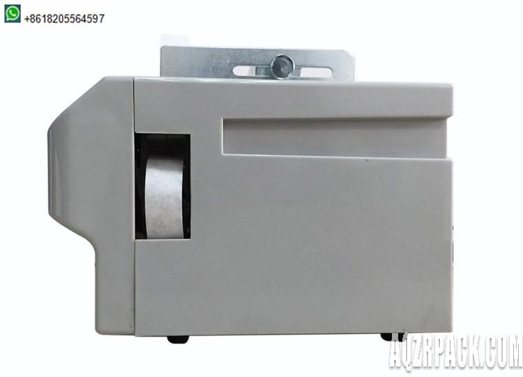 Stationary Strapping machine small size used in office or banks