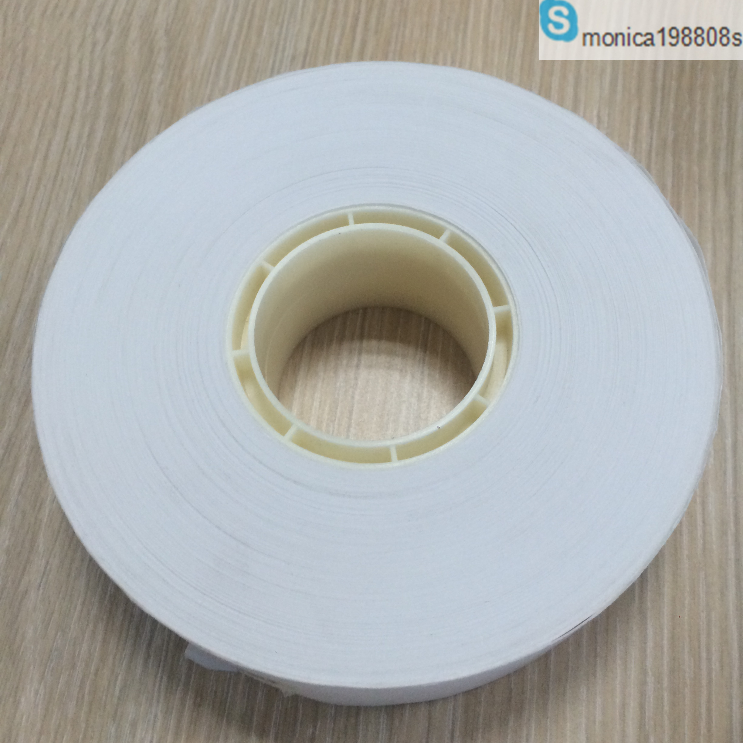 40mm wide hot heat adhesive banding paper roll