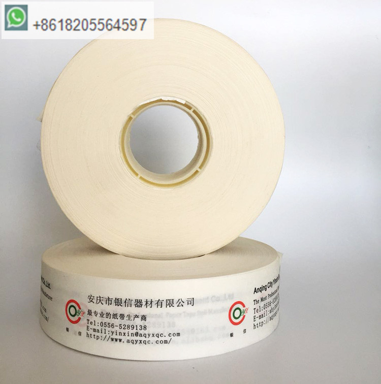 40mm with printed banding paper roll