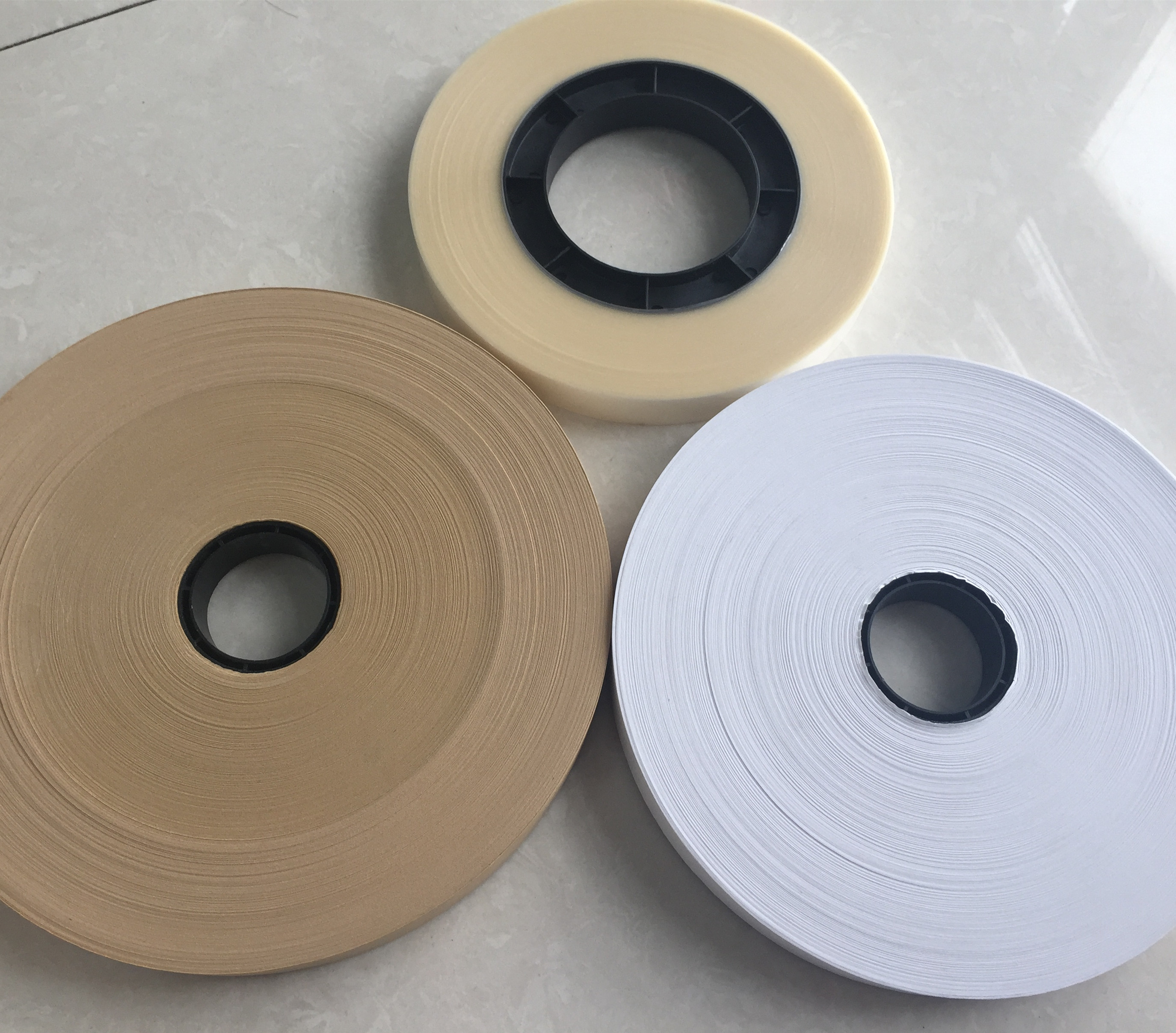 Box corner pasting kraft paper/PET tape for making boxes