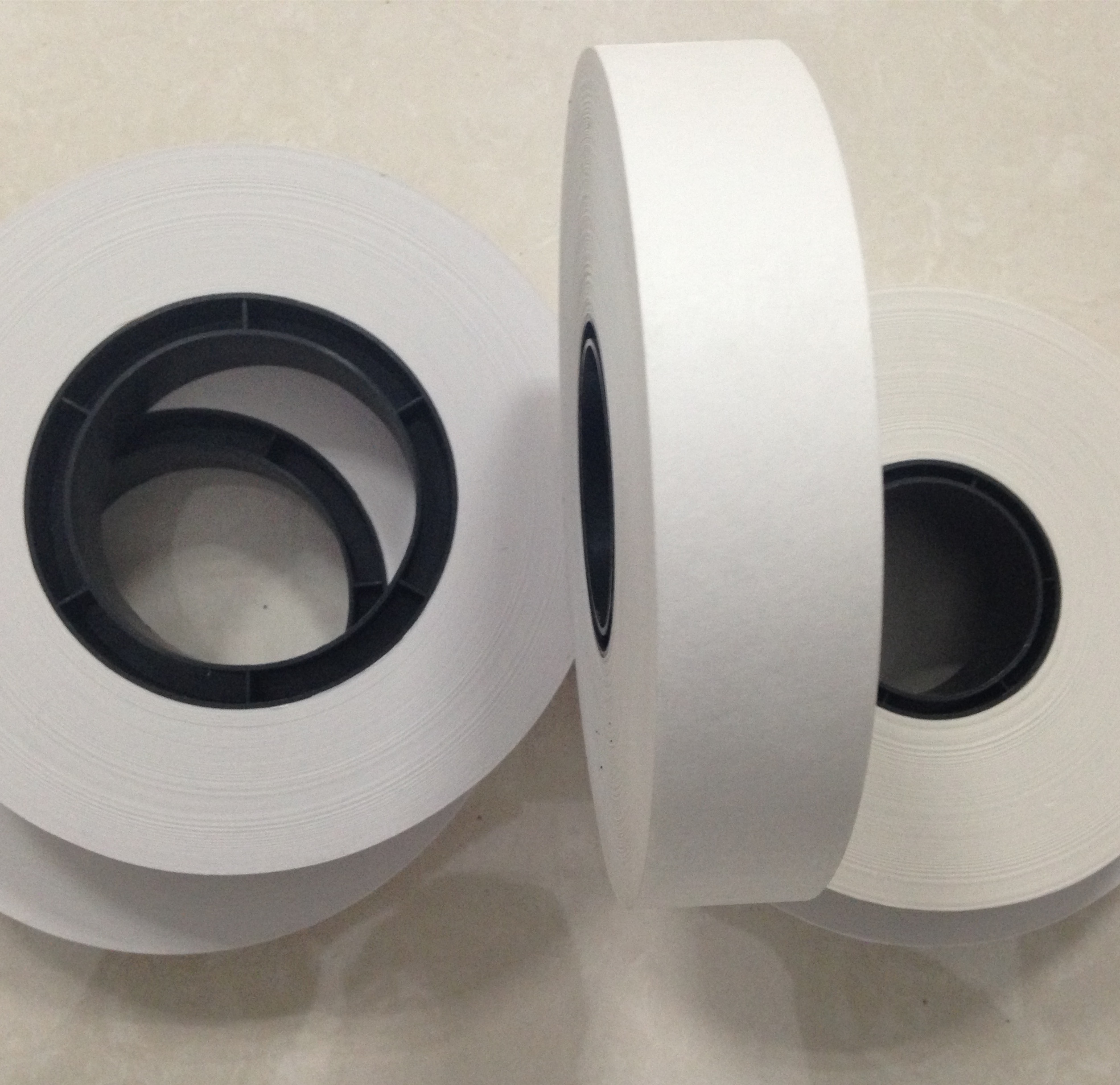 40mm width 76mm diameter plain banding paper tape machine roll