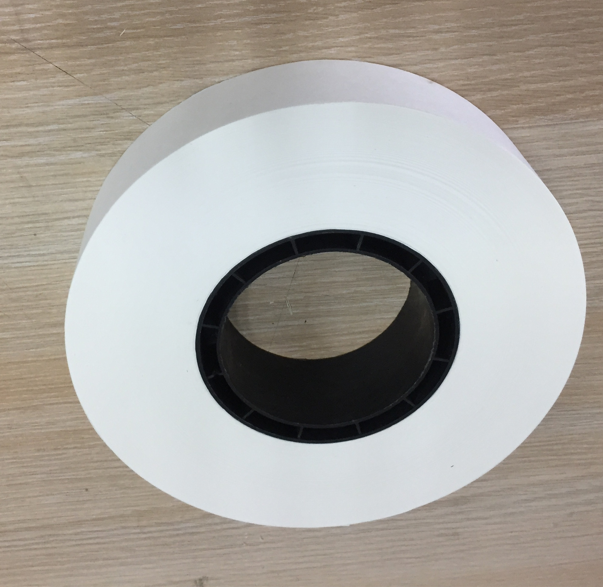 30mm wide 76mm diameter heat applied paper roll for smart currency binder use